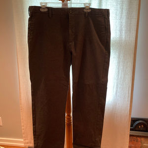 Dark Grey Banana Republic Emerson Chino Men's Pant